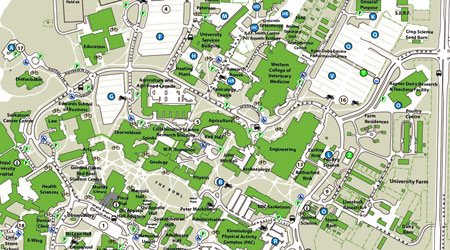 university of saskatchewan campus map Parking Maps Parking And Transportation Services University Of university of saskatchewan campus map